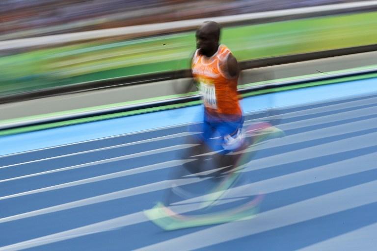 El atleta Churandy Martina, de Países Bajos, compitió en los 200 metros. Pulzo.com