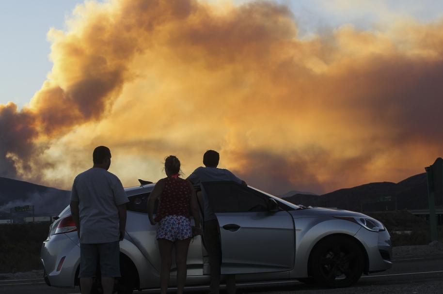 Incendio en California.