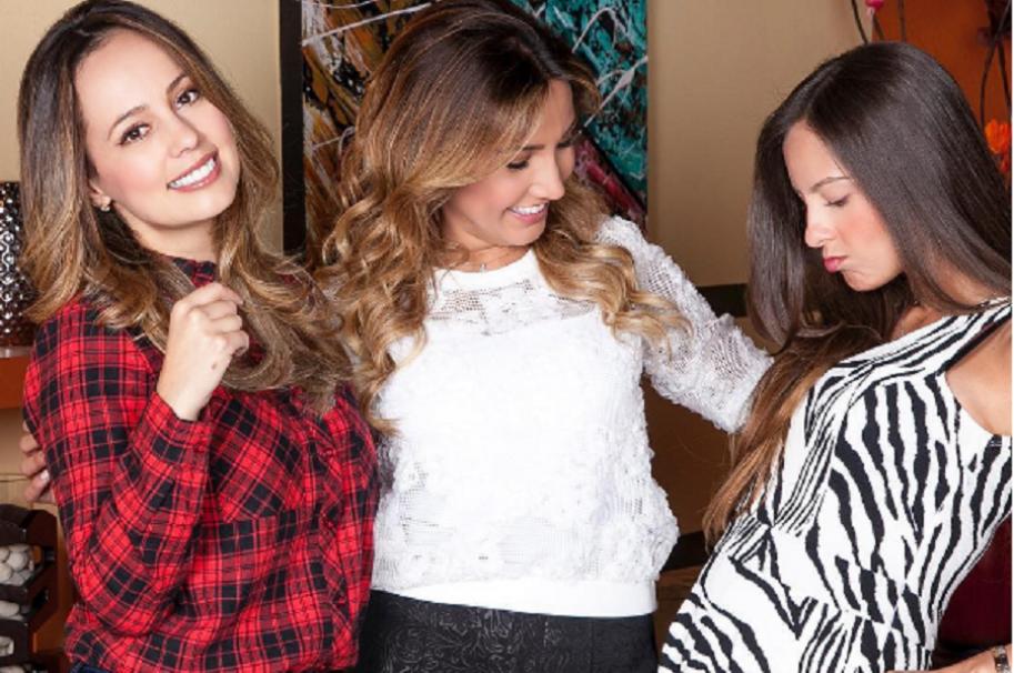 Milena López, Adriana Betancur y Laura Acuña, presentadoras de 'Muy buenos días'
