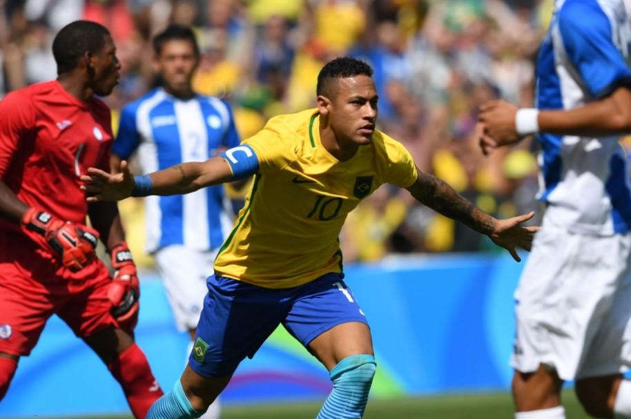 Neymar Brasil Honduras