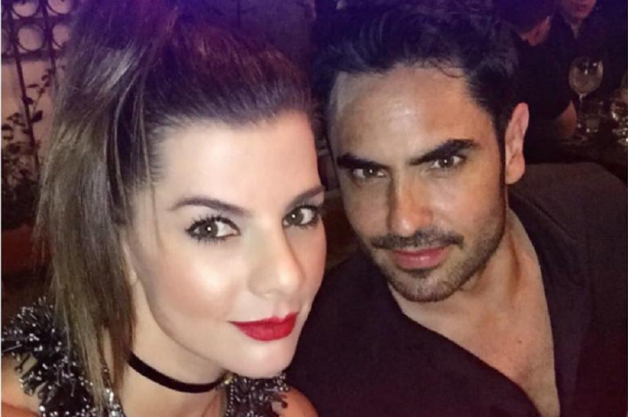 La presentadora Carolina Cruz y su novio, el actor Lincoln Palomeque