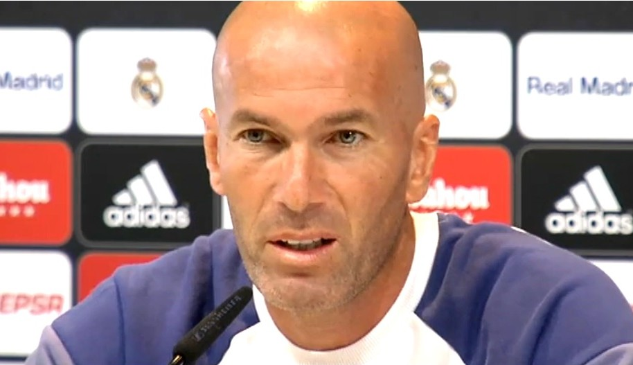 Zidane sobre James