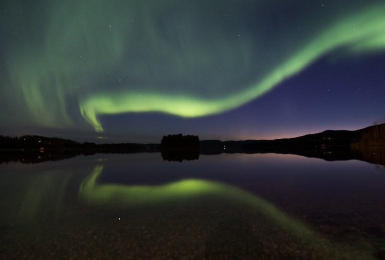 Aurora boreal en Suecia. Pulzo.com