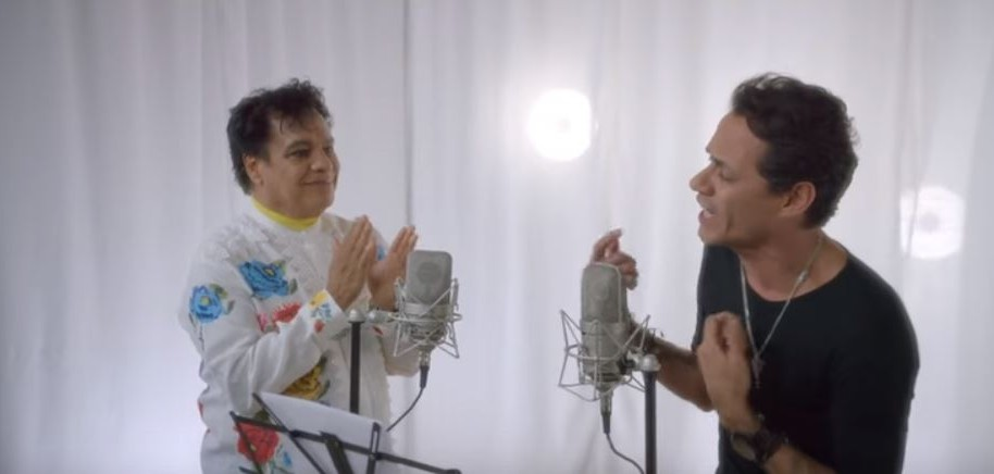 Marc Anthony y Juan Gabriel