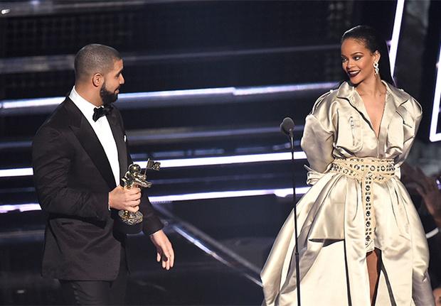 Drake y Rihanna.