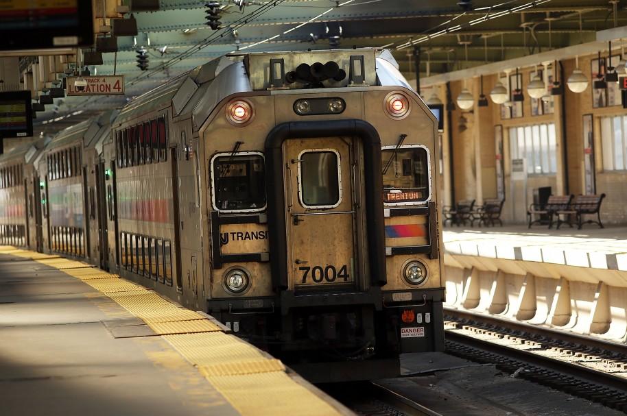 Tren de Nueva Jersey