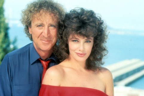 Gene Wilder y Kelly LeBrock en 'The Woman In Red'