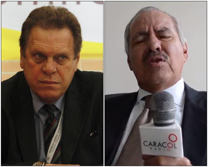 Ramón Jesurún y Darío Arizmendi.
