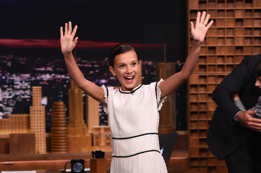 Actriz Millie Bobby Brown