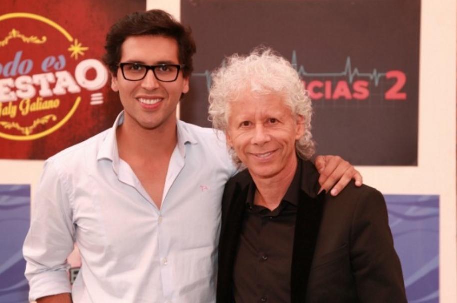 Bryan Moreno y Galy Galeano.