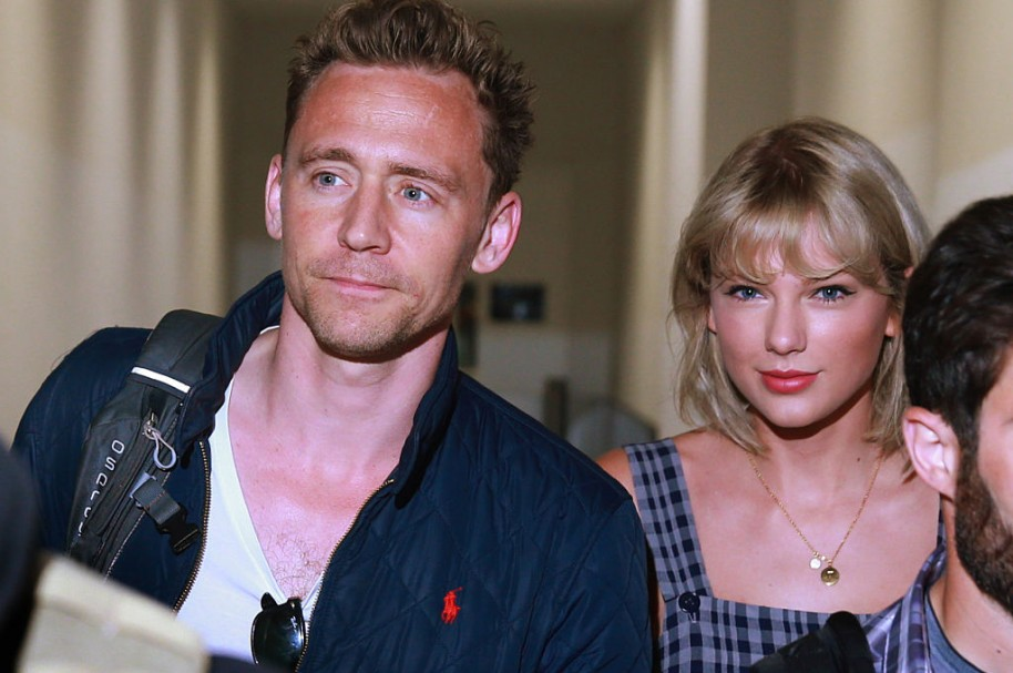 Tom Hiddleston y Taylor Swift