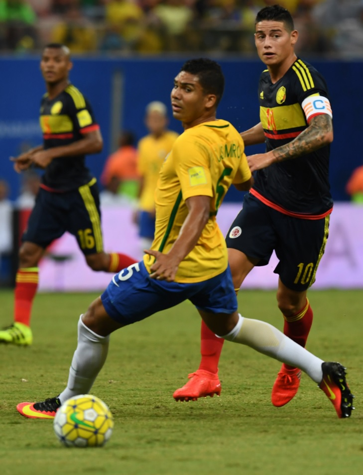 James Brasil AFP