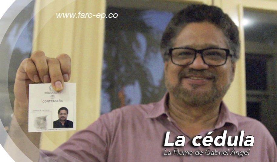 Cédula de Iván Márquez - Pulzo.com