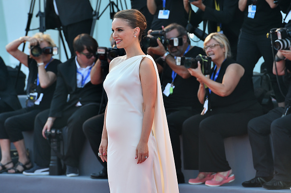 VENICE, ITALY - SEPTEMBER 08: Natalie Portman attends the premiere of 'Planetarium' during the 73rd Venice Film Festival at Sala Grande on September 8, 2016 in Venice, Italy. (Photo by Stefania D'Alessandro/WireImage)