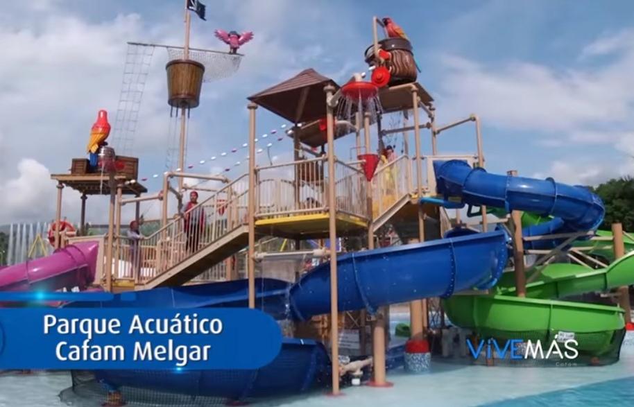 Parque acuático Cafam Melgar