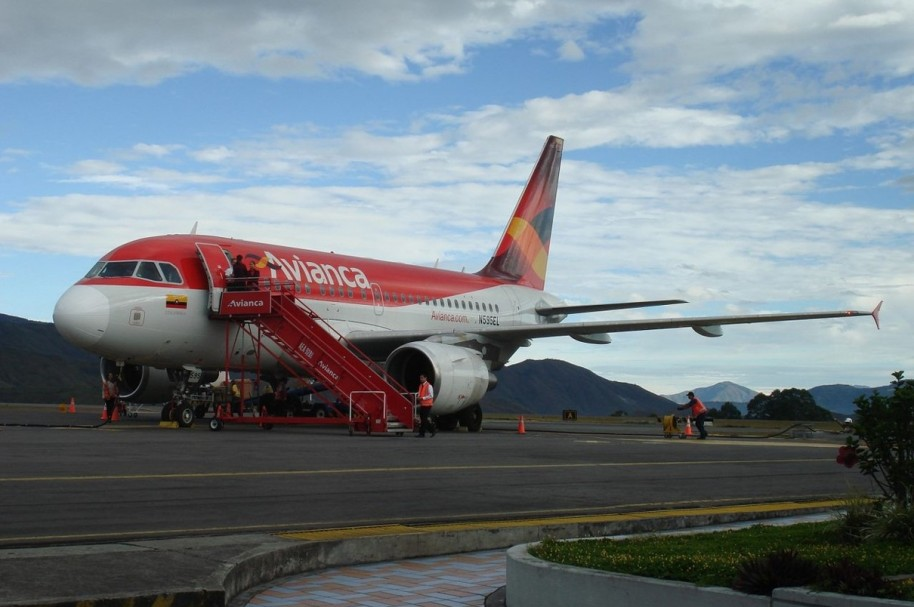 Avion de Avianca
