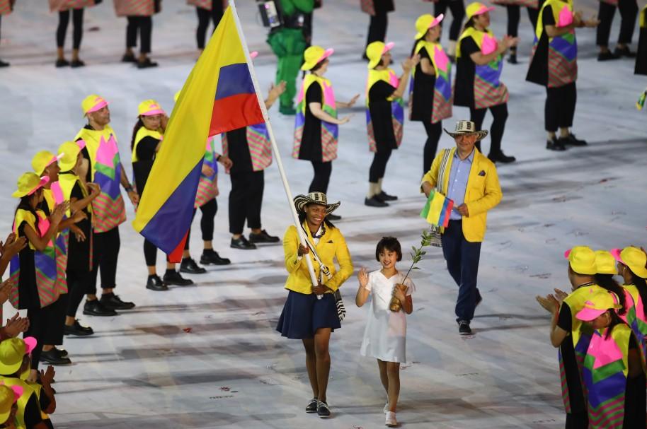 Ceremonia de apertura Juegos Olímpicos de Río 2016