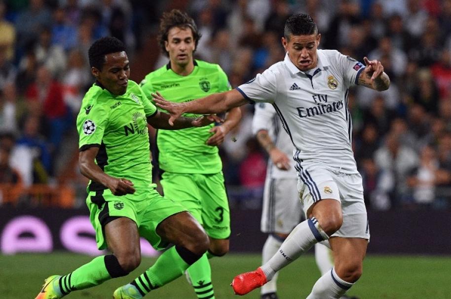 James Rodríguez fue vital con el Real Madrid