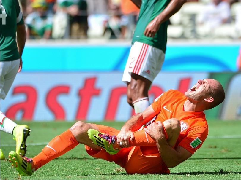 Robben insiste en que fue penal
