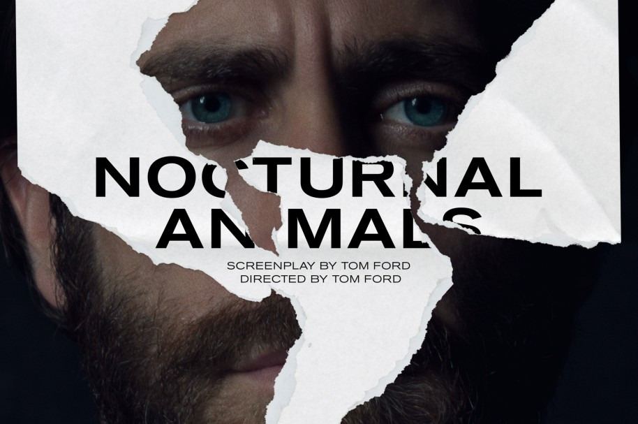 Afiche de la película 'Nocturnal animals' de Tom Ford