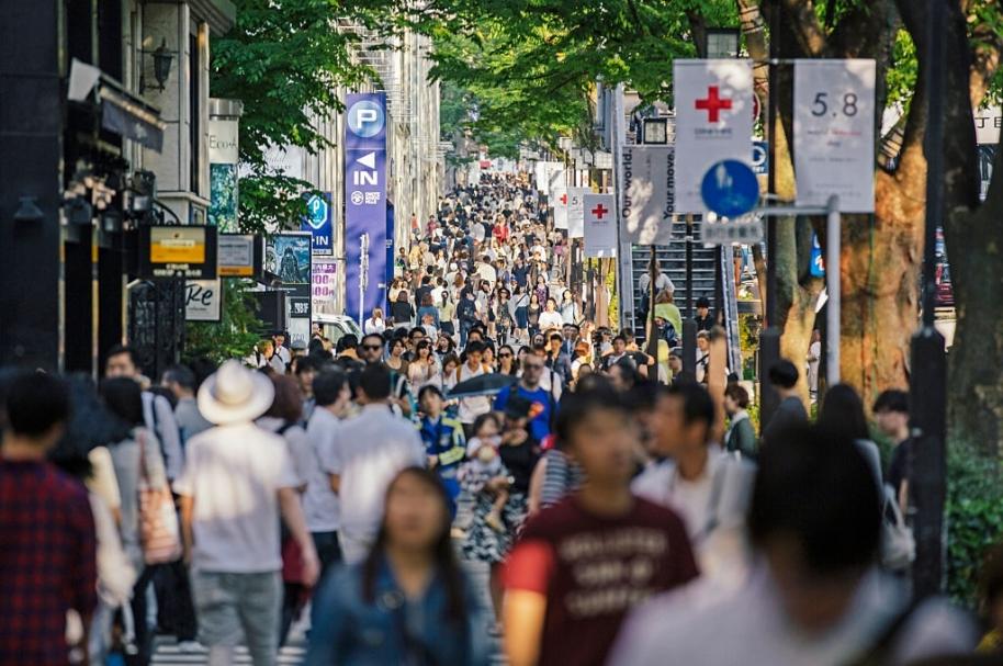 Población japonesa está envejeciendo