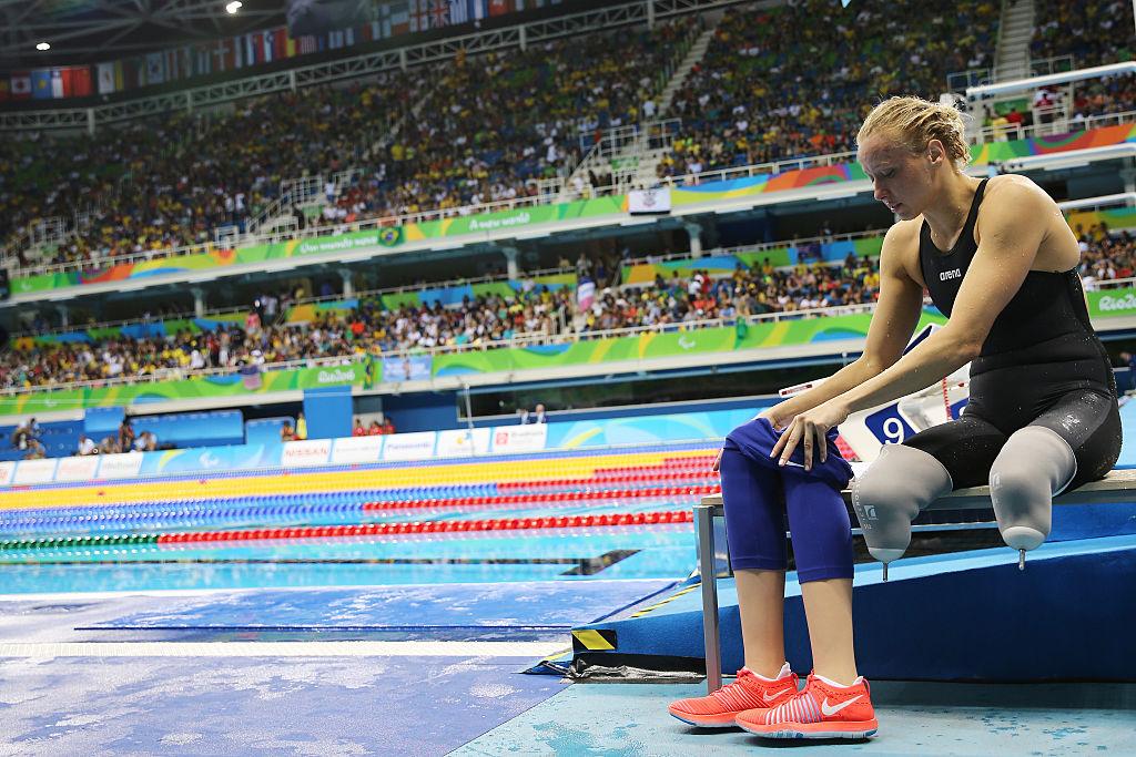 La nadadora estadounidende Jessica Long ganó la medalla de oro en los 200 metros. Pulzo.com