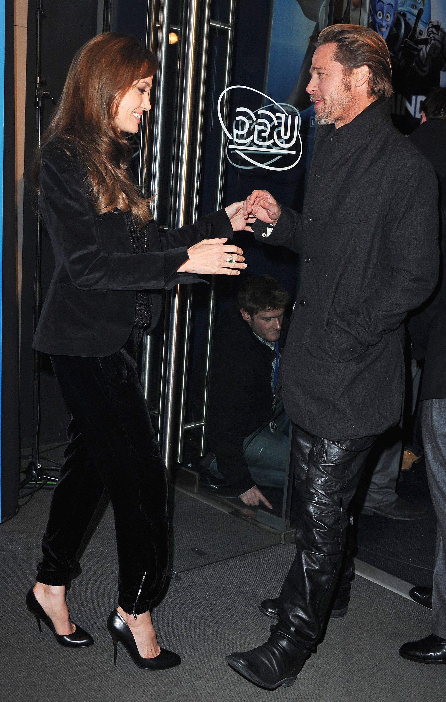 Brad Pitt y Angelina Jolie 14