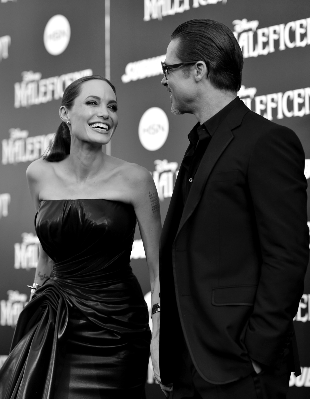Brad Pitt y Angelina Jolie 3