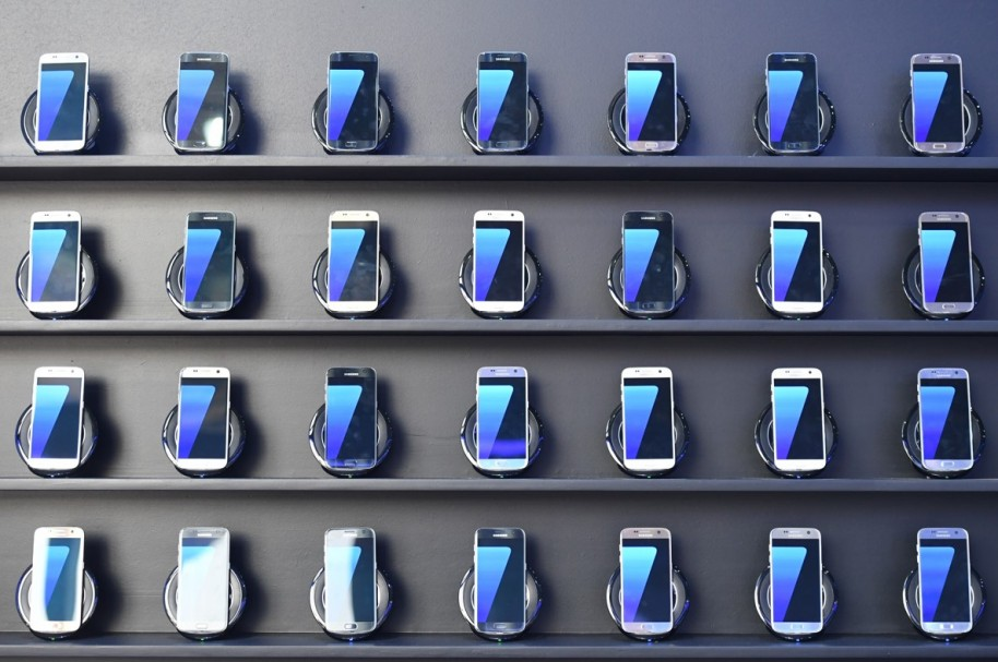 Samsung Galaxy S7.