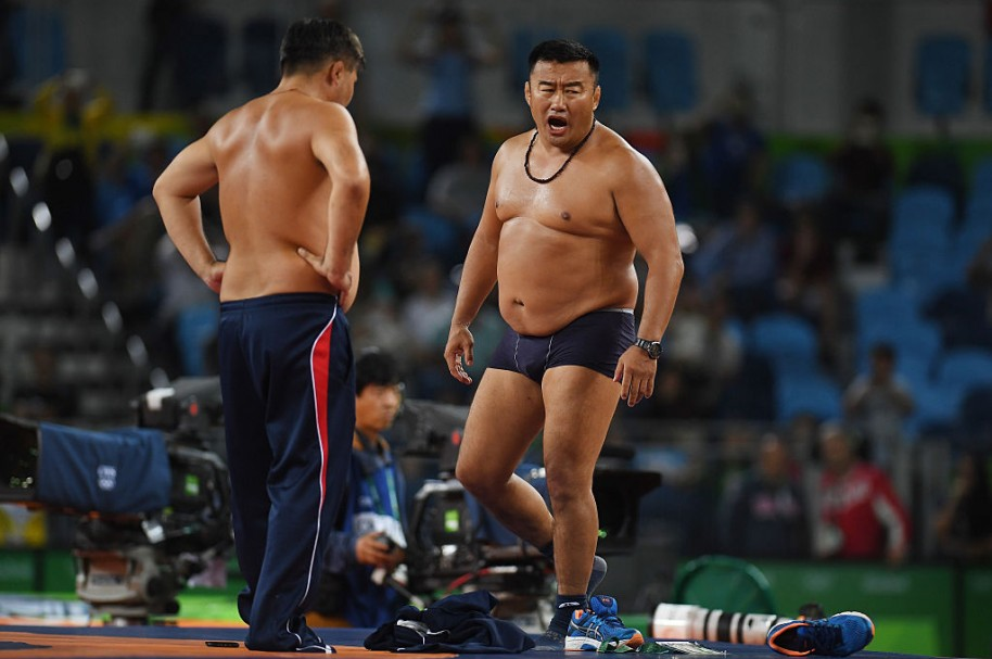 Wrestling - Olympics: Day 16