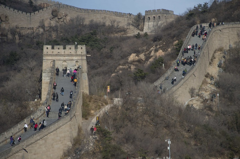 CHINA-HISTORY-TOURISM-GREAT WALL