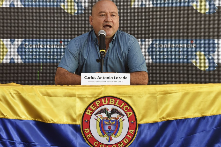COLOMBIA-PEACE-FARC-GUERRILLA-CONFERENCE-LOZADA