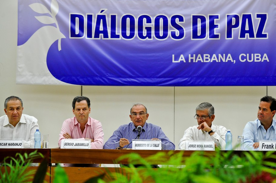 CUBA-COLOMBIA-FARC-PEACE ACCORD