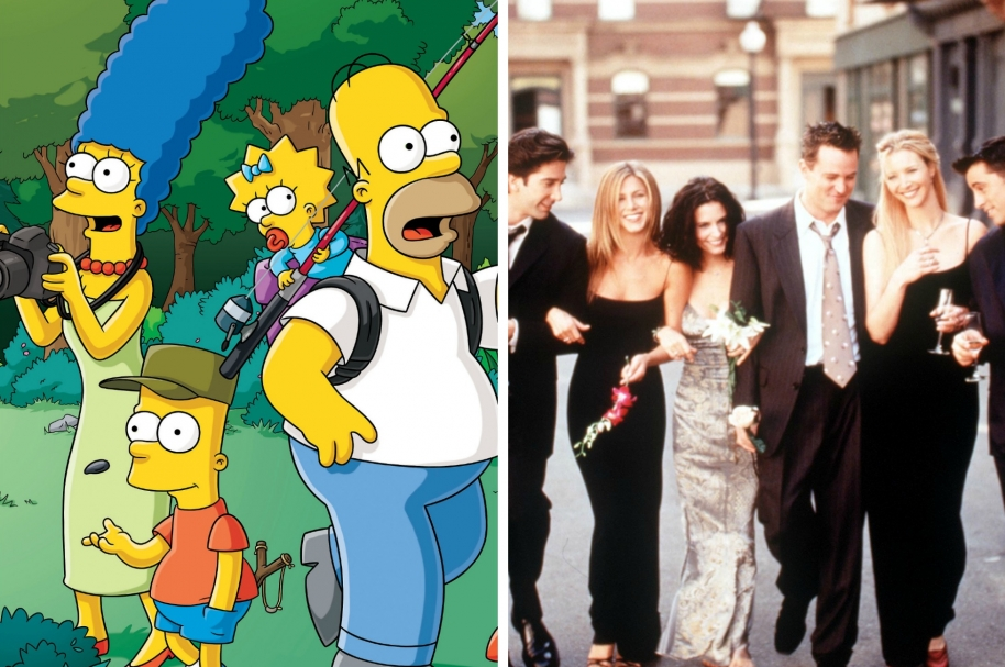 The Simpsons y Friends