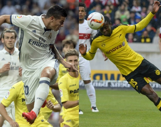 Colombianos en Champions League
