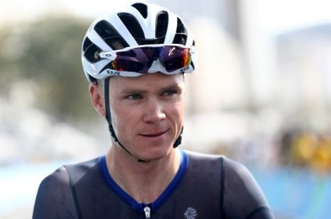 Chris Froome, ciclista británico