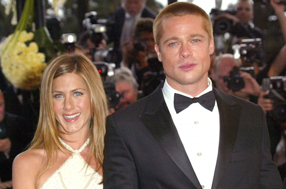Jenifer Aniston y Brad Pitt