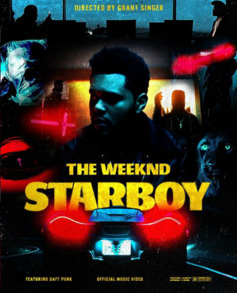 Video 'Starboy' de The Weeknd y Daft Punk