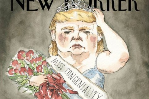 captura portada The New Yorker Donald Trump