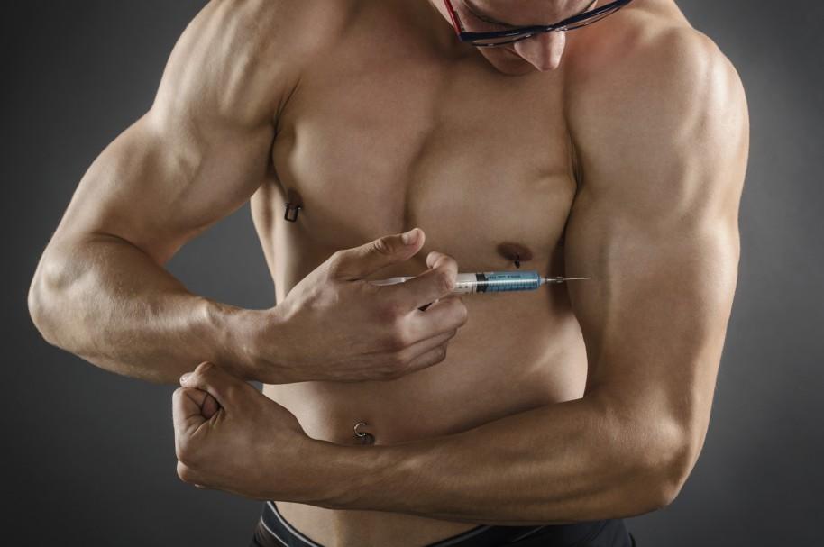 Inyección de esteroides