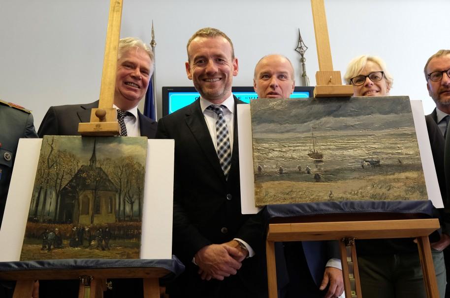 Pinturas de Van Gogh encontradas en Italia