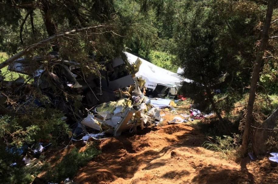 Avioneta estrellada en Medellín