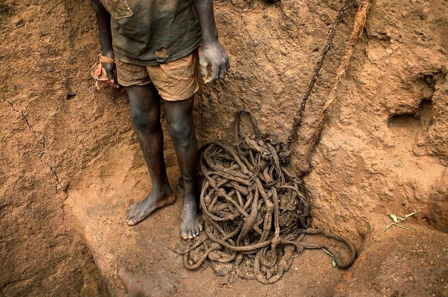 Minas en el Congo