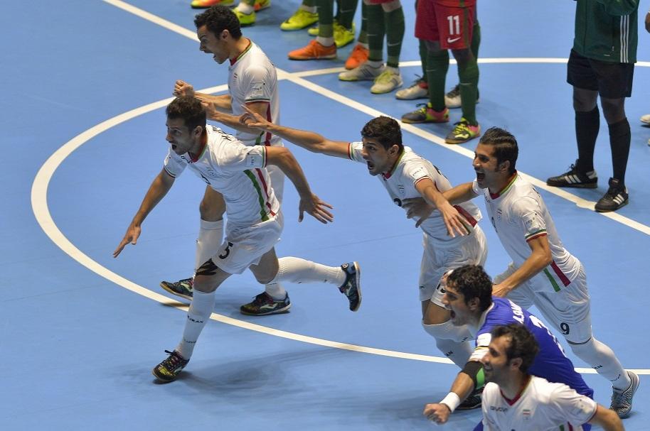 Irán tercero en Mundial de Fútsal
