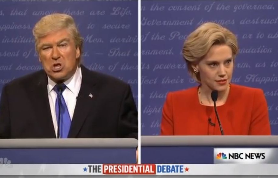 parodia debate presidencial Saturday Night Live