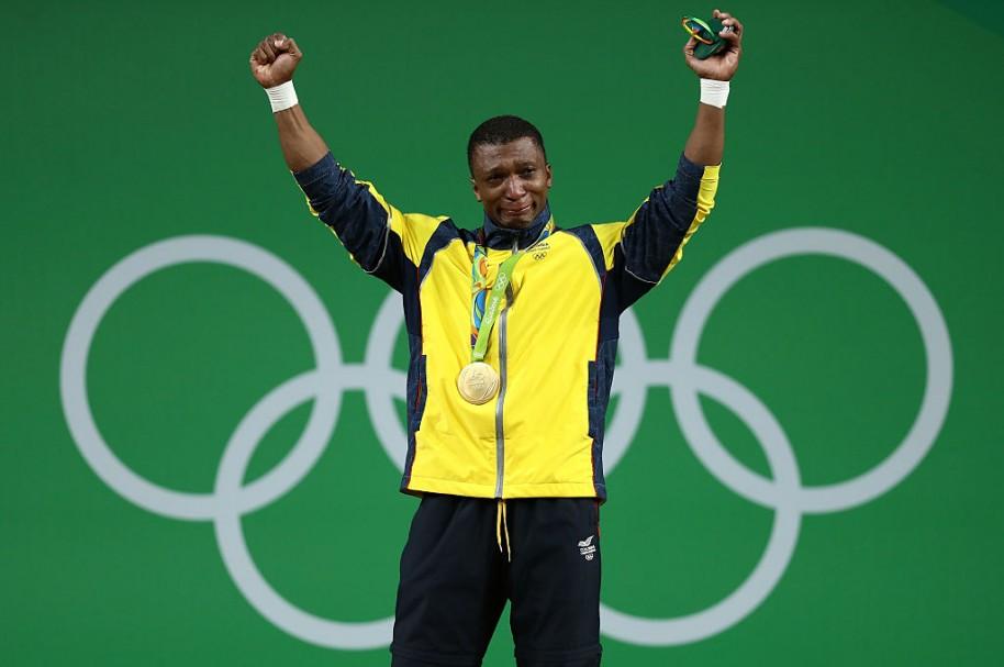 Óscar Figueroa, oro olímpico en pesas