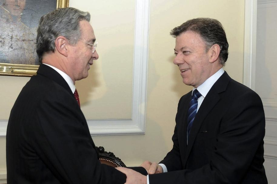 Encuentro Uribe Santos