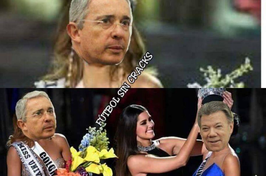 Memes Nobel de paz a Santos.