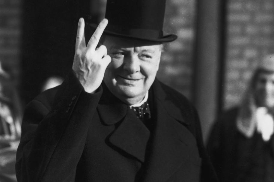 Winston Churchill, primer ministro del Reino Unido de 1940 a 1950 y de 1951 a 1955