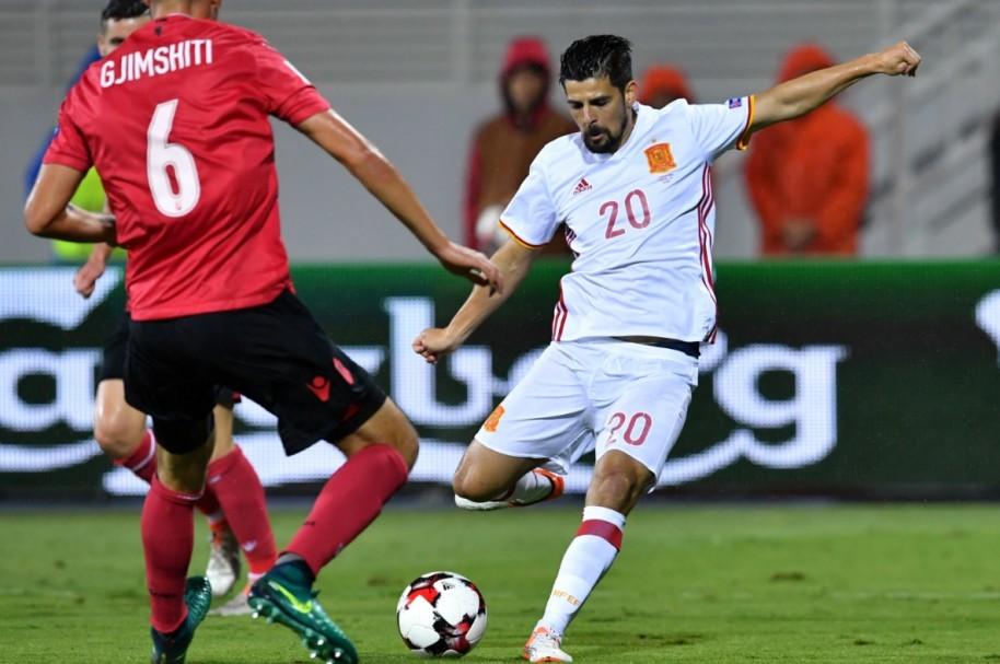 España Albania AFP